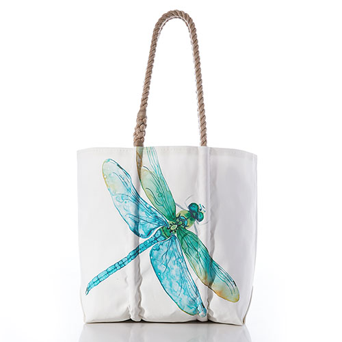 Watercolor Dragonfly Tote