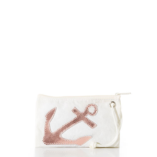 Rose Gold Anchor Wristlet