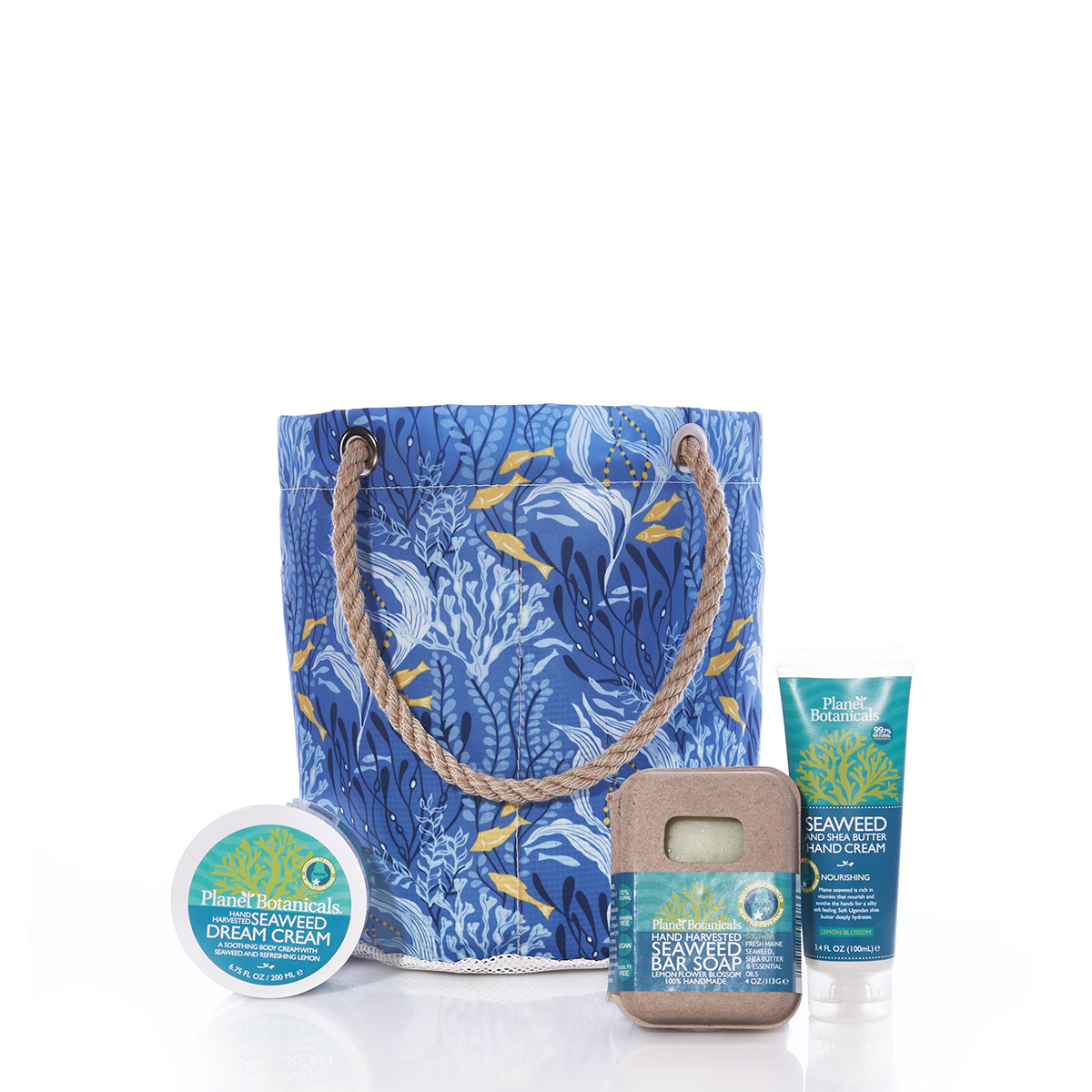 Spa Beachcomber Bucket - Blue Ocean Flora
