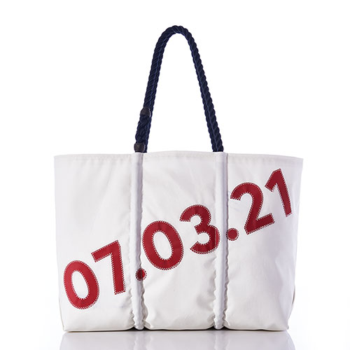 Custom Design Date Tote