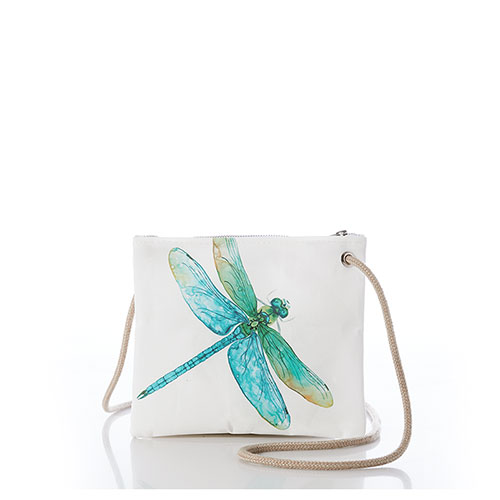 Watercolor Dragonfly Slim Crossbody