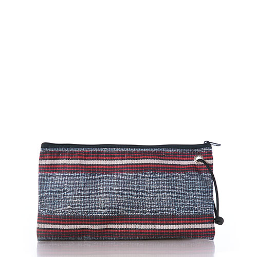 Basketweave Large Wristlet