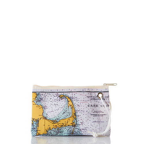 Cape Cod Nautical Chart Wristlet