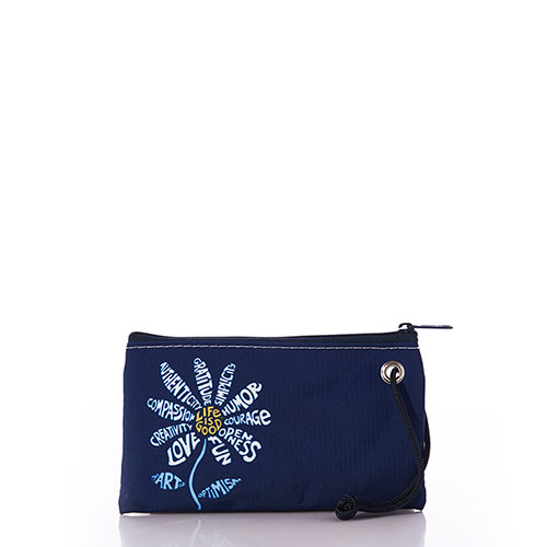 Superpower Daisy Life is Good Wristlet
