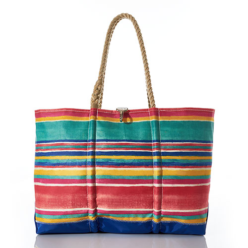 Island Stripe Ogunquit Beach Tote