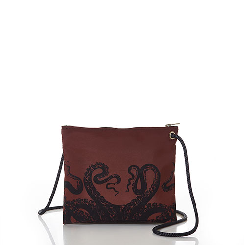 Tanbark Octopus Slim Crossbody Bag