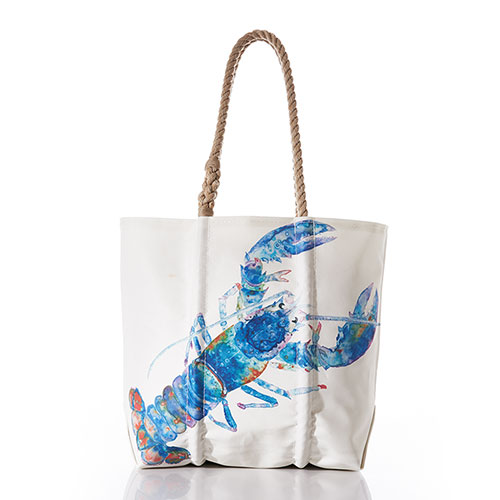 Multicolor Lobster Tote