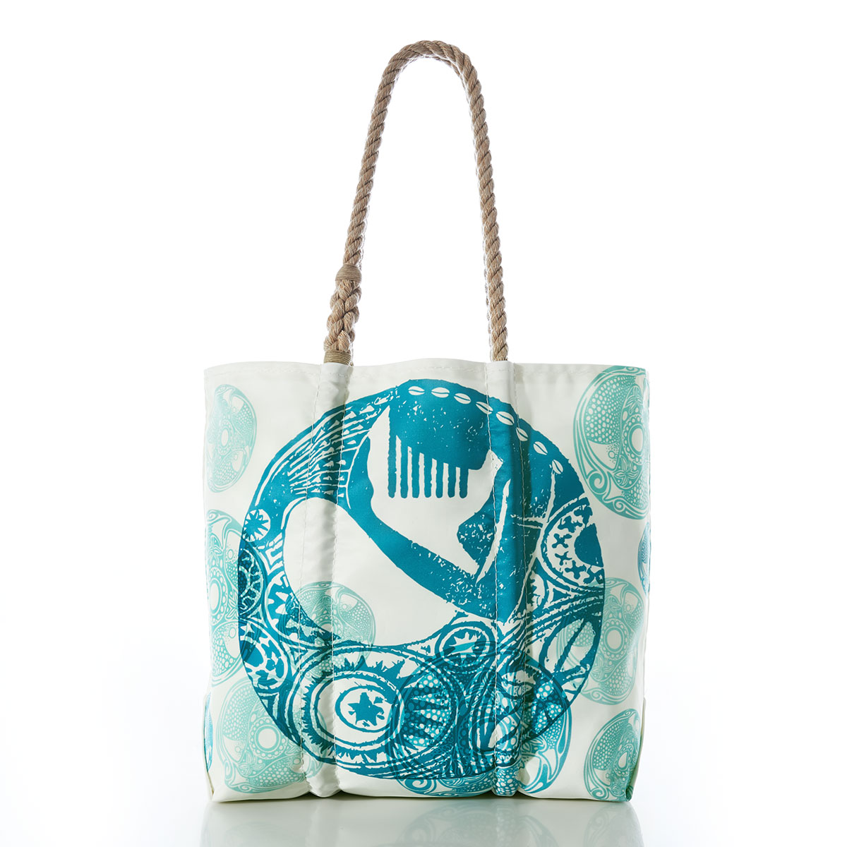 Large shopping bag Gift for her shells /& coral tote bag Ocean themed tote bag Fabric tote bag lined with inside pocket gift for her