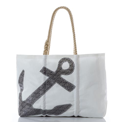 Black High Performance Sail Anchor Tote