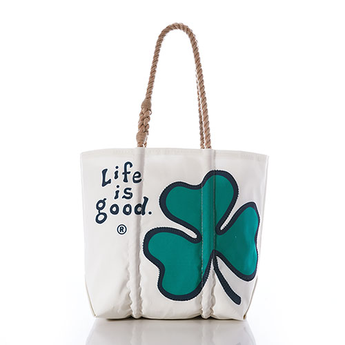 Life is Good Shamrock Tote