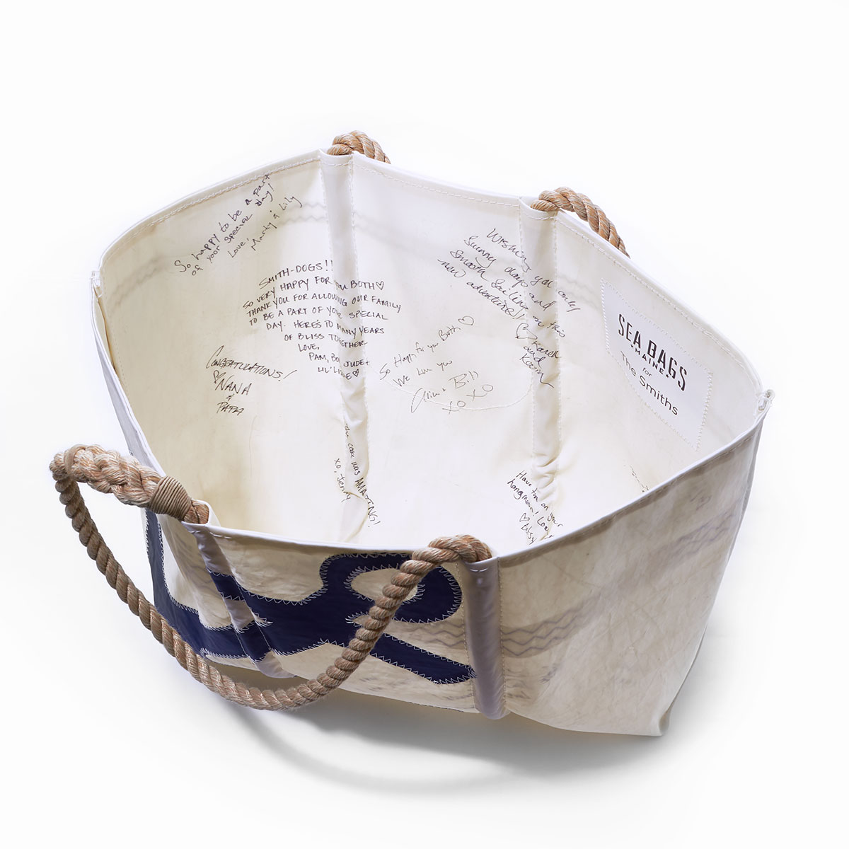 Custom Anchor Guest Book Tote