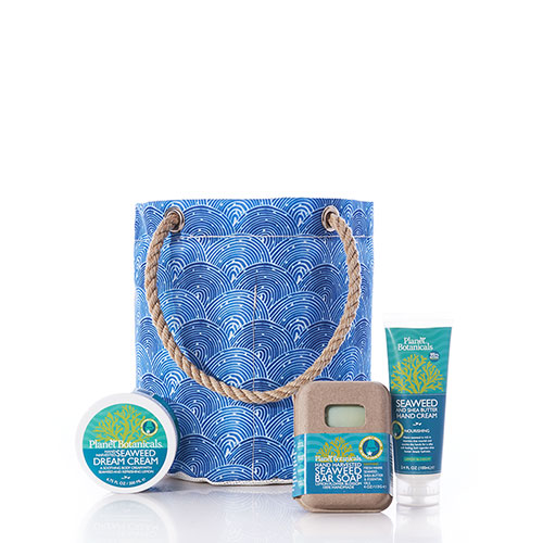 Spa Beachcomber Bucket - Liquid Blue Fish Scale