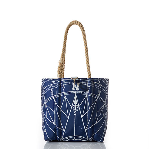 Navy True North Handbag